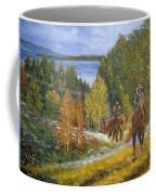 Autumn In Big Bear, 18x24, Oil, '08 Coffee Mug
