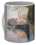 Autumn In Bruges Coffee Mug by Omer Coppens