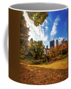 Autumn In Central Park Coffee Mug