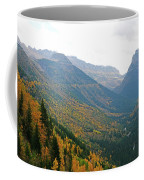Autumn In Glacier Coffee Mug