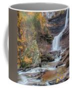 Autumn Kaaterskill Falls Square Coffee Mug
