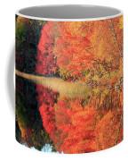 Autumn Lake Scenery Coffee Mug