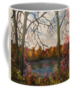 Autumn Lake View Coffee Mug