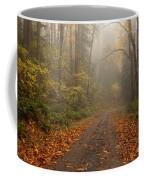 Autumn Lane Coffee Mug by Mike  Dawson