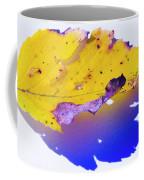 Autumn Leaf Abstract Coffee Mug