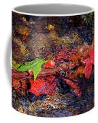 Autumn Leaves Abstract Coffee Mug