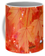 Autumn Leaves Art Prints Orange Fall Leaves Baslee Troutman Coffee Mug