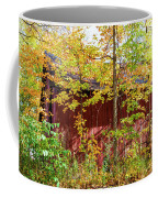 Autumn Michigan Barn  Coffee Mug