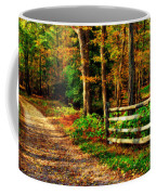 Autumn Moment - Allaire State Park Coffee Mug
