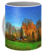 Autumn Moon Rising Coffee Mug