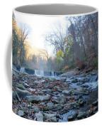 Autumn Morning Along The Wissahickon Creek Coffee Mug