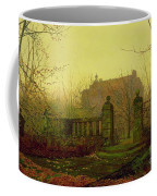 Autumn Morning Coffee Mug by John Atkinson Grimshaw