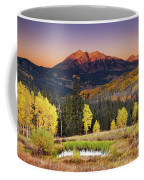 Autumn Mountain Landscape, Colorado, Usa Coffee Mug