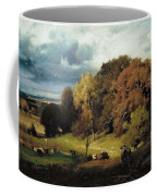 Autumn Oaks , George Inness Coffee Mug