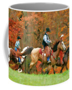 Autumn On Horseback Coffee Mug