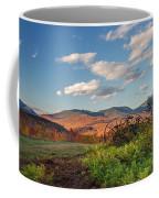 Autumn On The Farm Panorama Coffee Mug