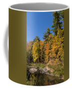 Autumn On The Riverbank - The Changing Forest Coffee Mug
