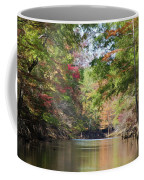 Autumn Over Golden Waters Coffee Mug