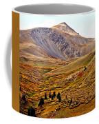 Autumn Peaks In The Rockies Coffee Mug
