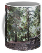 Autumn Picnic In The Woods  Coffee Mug