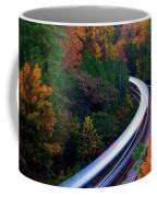 Autumn Rails Coffee Mug
