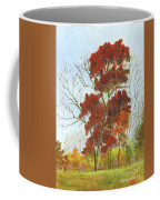 Autumn Red Coffee Mug