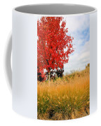 Autumn Red Maple Coffee Mug