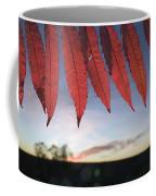 Autumn Red Sumac Leaves Coffee Mug