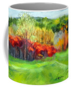 Autumn Reds Coffee Mug by Lenore Gaudet