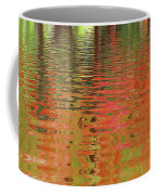 Autumn Reflections Abstract Coffee Mug