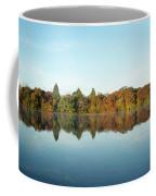 Autumn Reflections At Belmont Lake Coffee Mug