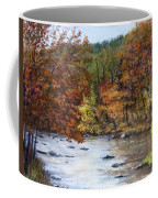 Autumn River Coffee Mug