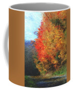 Autumn Roadside Coffee Mug
