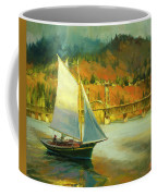 Autumn Sail Coffee Mug by Steve Henderson