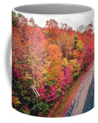 Autumn Season And Color Changing Leaves Season Coffee Mug