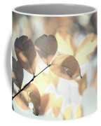 Autumn Season Leaves On A Tree In Sun Light Coffee Mug