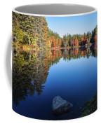 Autumn Serenity In Maine Usa Coffee Mug