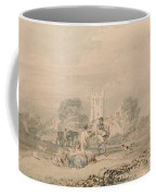 Autumn Sowing Of The Grain Coffee Mug