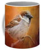 Autumn Sparrow Coffee Mug