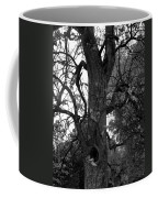 Autumn Spook In Black And White Coffee Mug