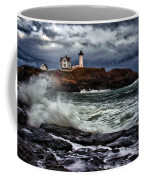 Autumn Storm At Cape Neddick Coffee Mug