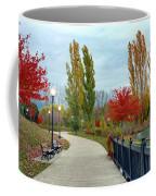 Autumn Stroll In The Park Coffee Mug