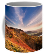 Autumn Sunset At Sutton Bank Coffee Mug
