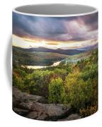 Autumn Sunset In The Catskills Coffee Mug