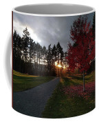 Autumn Sunset, Shawnigan Lake Coffee Mug
