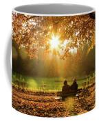 Autumn Sunshine In The Lichtentaler Allee. Baden-baden. Germany. Coffee Mug