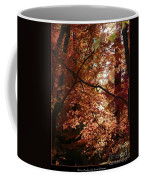 Autumn Sunshine Poster Coffee Mug