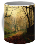 Autumn Sunshine Stapleton Parknear Pontefract  Coffee Mug