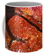 Autumn Tree Art Prints Orange Red Leaves Baslee Troutman Coffee Mug