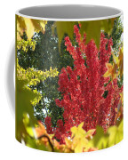 Autumn Trees Landscape Art Prints Canvas Fall Leaves Baslee Troutman Coffee Mug